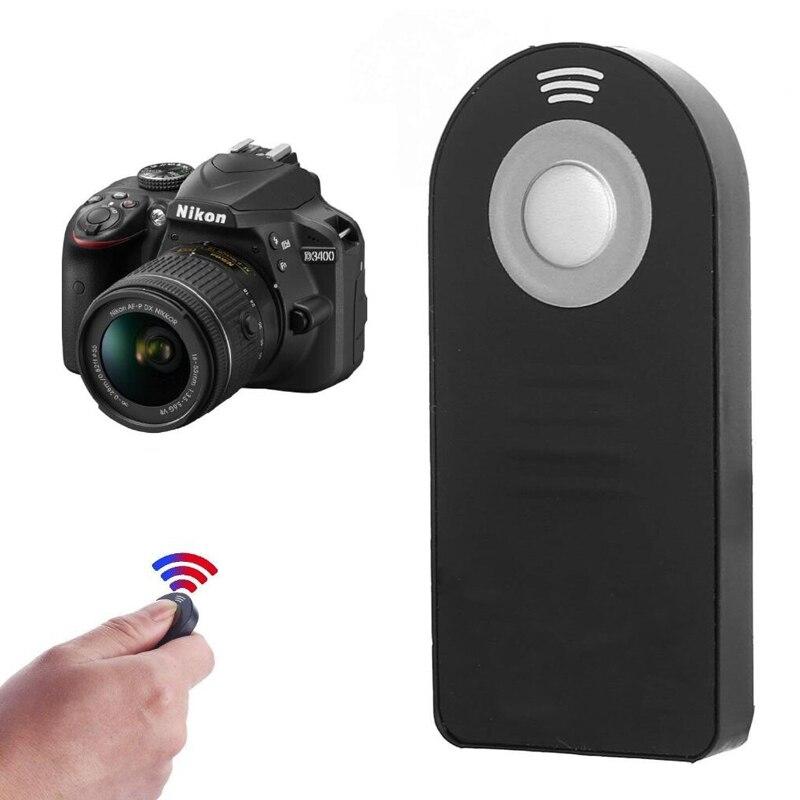 ML-L3 mando con Control remoto inalámbrico para Nikon D3200/D3300/D3400/D5100/D5300/D5500/D600/D610/D7000/D7100/D750/D800/D90