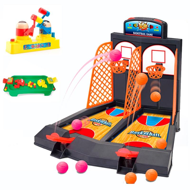Mini Handheld Finger Basketball padre-niño Shooting Hoops Toy Family Fun juegos de mesa juguete puzle para niños para fiesta familiar