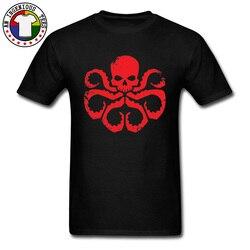 Granizo hydra t-shirts marvel comic capitão américa super-herói novo t camisa para homem personalizado topos & t boa qualidade marca t