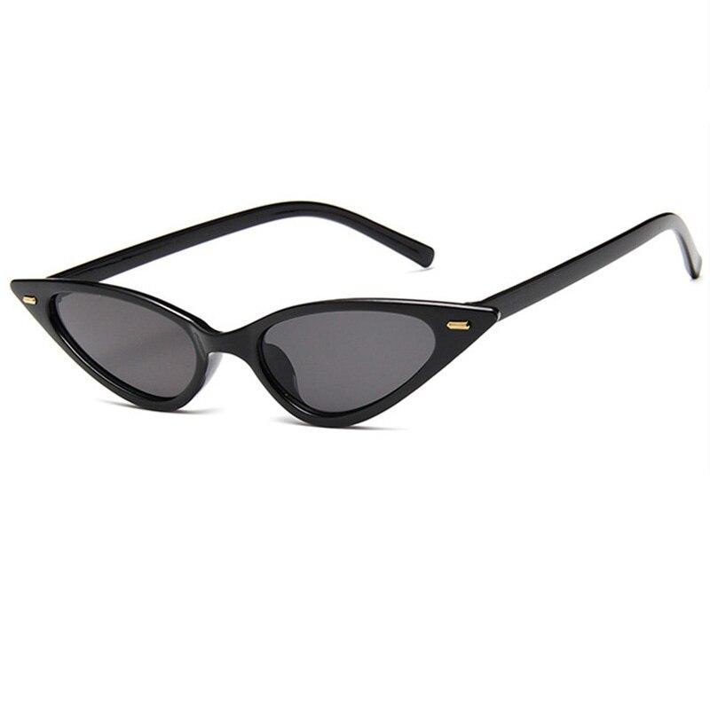 2019 Cat eye Small Frame Sunglasss Women Vintage Classic Sun Glasses Men Outdoor Driving Goggles Ocu