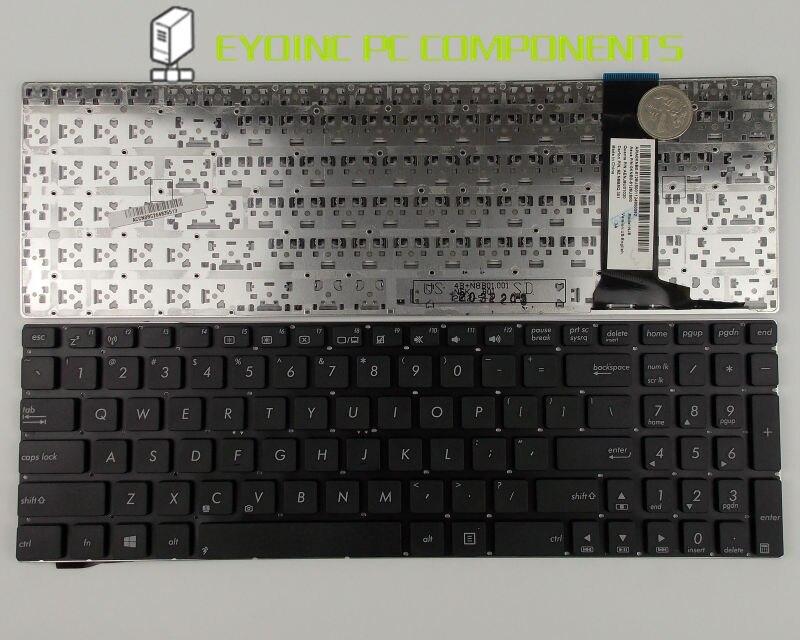 De teclado del ordenador portátil para ASUS N56V N56VZ N56VZ-S4044V N56VZ-S4027V N56VZ-S4086V no retroiluminado nos versión