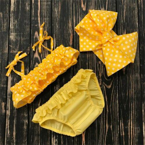 3 uds. De verano para niños y niñas, falda de Polka Tankini, Bikini, traje de baño, traje de baño, ropa de playa, Biquini
