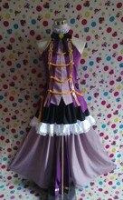 [Personalizar] anime! Final fantasia xiv ff14 super star hinamatsuri idol vestido roxo lolita uniforme cosplay traje frete grátis