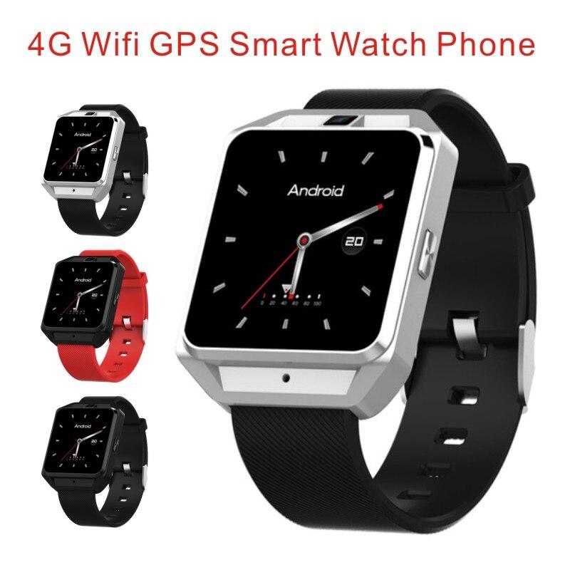 Microwear H5 4G Wifi GPS inteligente del teléfono del reloj 5MP Cámara Quad Core 1,1 GHz 1G RAM 8G ROM Brújula de deporte de moda reloj