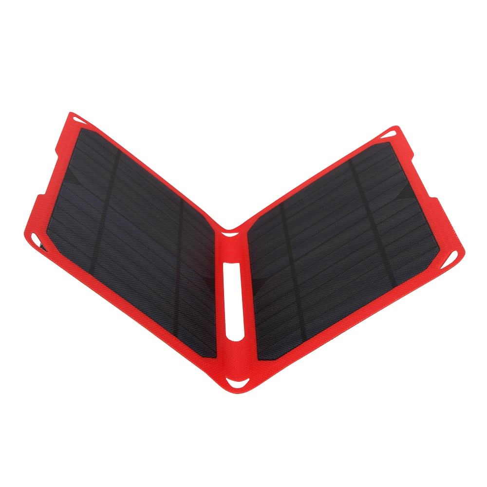 Cargador Solar de alta eficiencia PowerGreen 14W Mono Panel Solar ETFE banco de energía Solar célula Solar para teléfonos