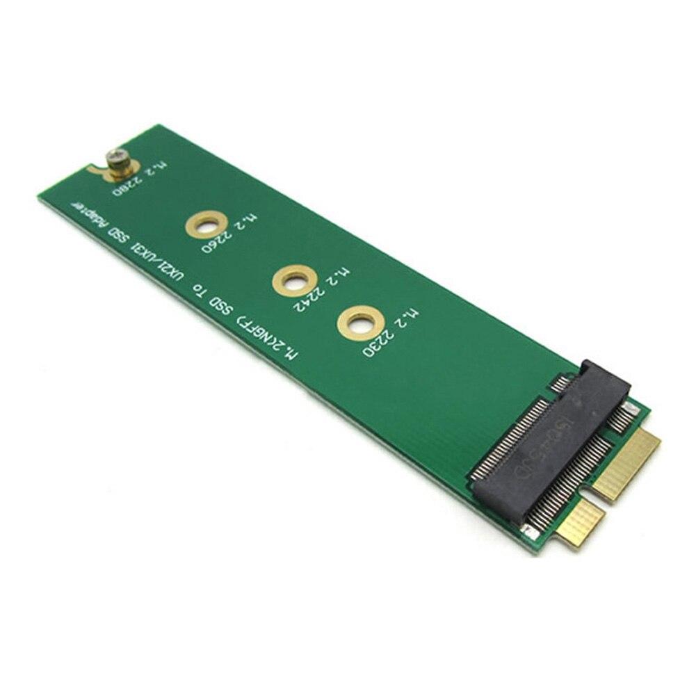 PCIE PCI express Lane 2 M.2 PCI-E ssd NGFF SSD 30mm 42mm para EP121 UX21 UX31 ADATA XM11 Add on Cartões SSD PCBA