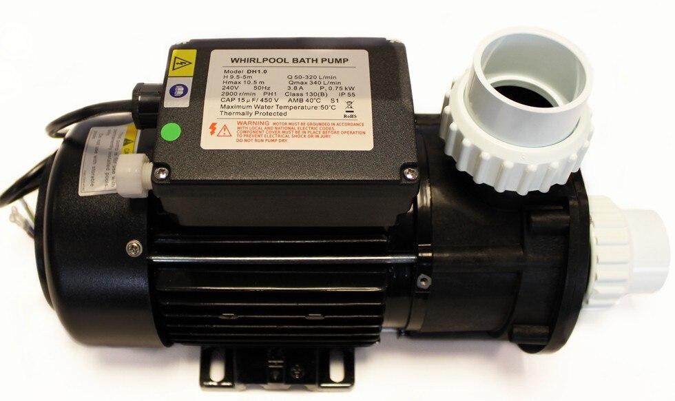 DH1.0 Ванна насос 1 HP/750 W/220 V-50 HZ или 220V 60HZ Специальная цена