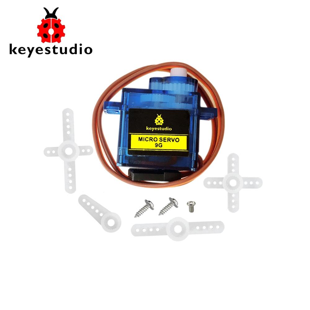 1 шт. keyestudio 9G Мини SG90 90 градусов Серводв