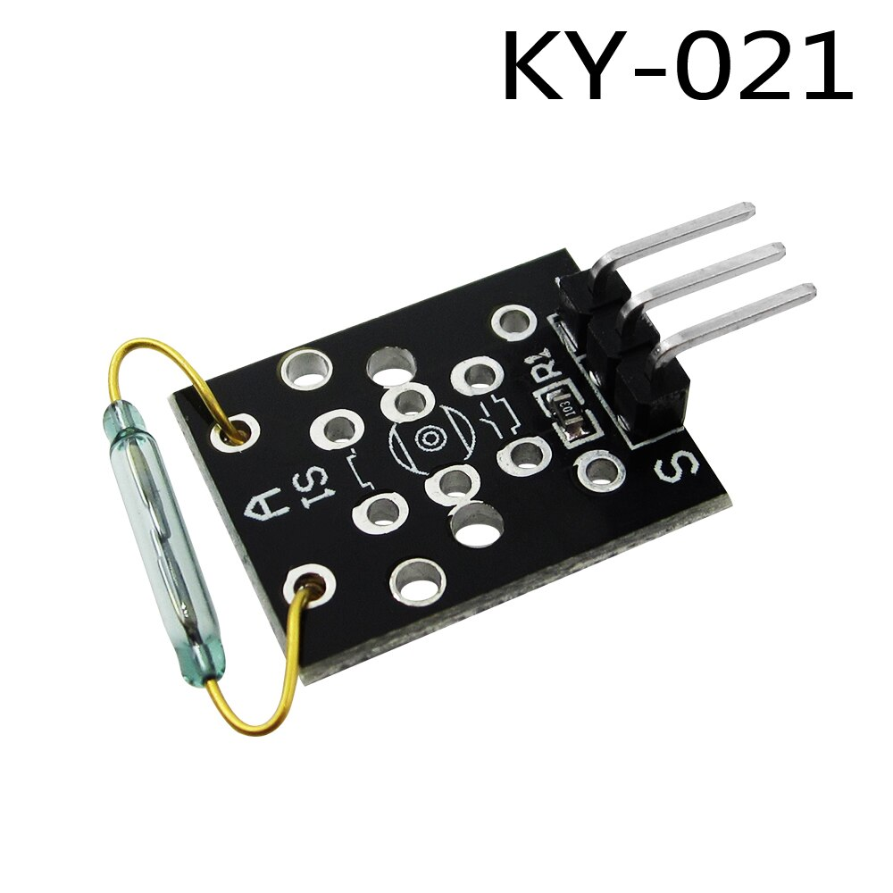 HAILANGNIAO 10PCS KY-021 3pin Small BETR Mini Magnetic Dry Reed Pipe Switch Sensor Module DIY Starter Kit