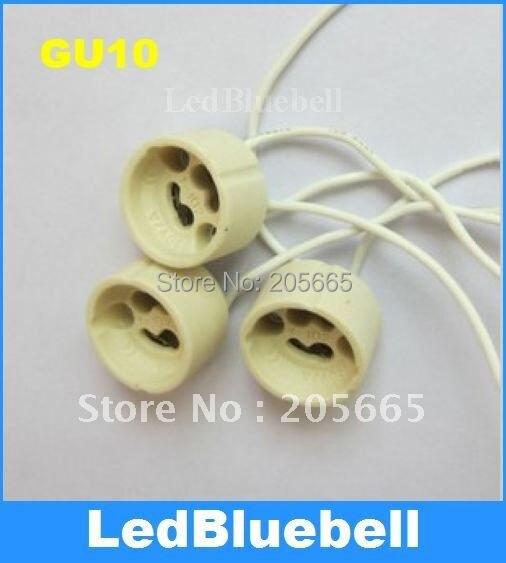 Portalámparas de cerámica GU10 envejecido lámpara de base de lámpara GU10