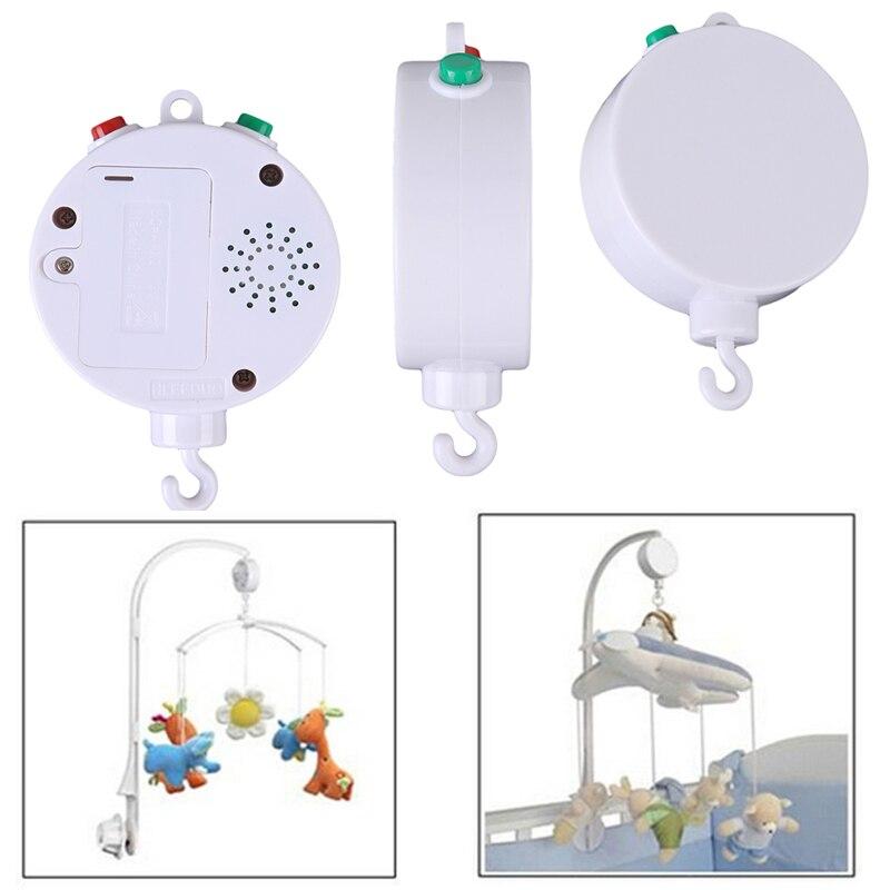 Berço rotativo para bebê 35 músicas, cama elétrica para berço e bebê recém-nascido, funciona a bateria 0-12 meses