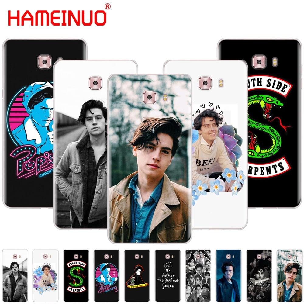 HAMEINUO tv riverdale Jughead Jones funda de teléfono funda para Samsung Galaxy C5 C7 C8 C9 C10 J2 PRO 2018