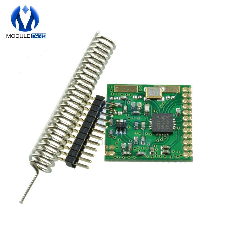 SI4432 470MHz  470M 433mhz 1000m Wireless Module Wireless Communication Board FSK GFSK OOK Mode 1.8-3.6V 8 bit Converter DIY KIT