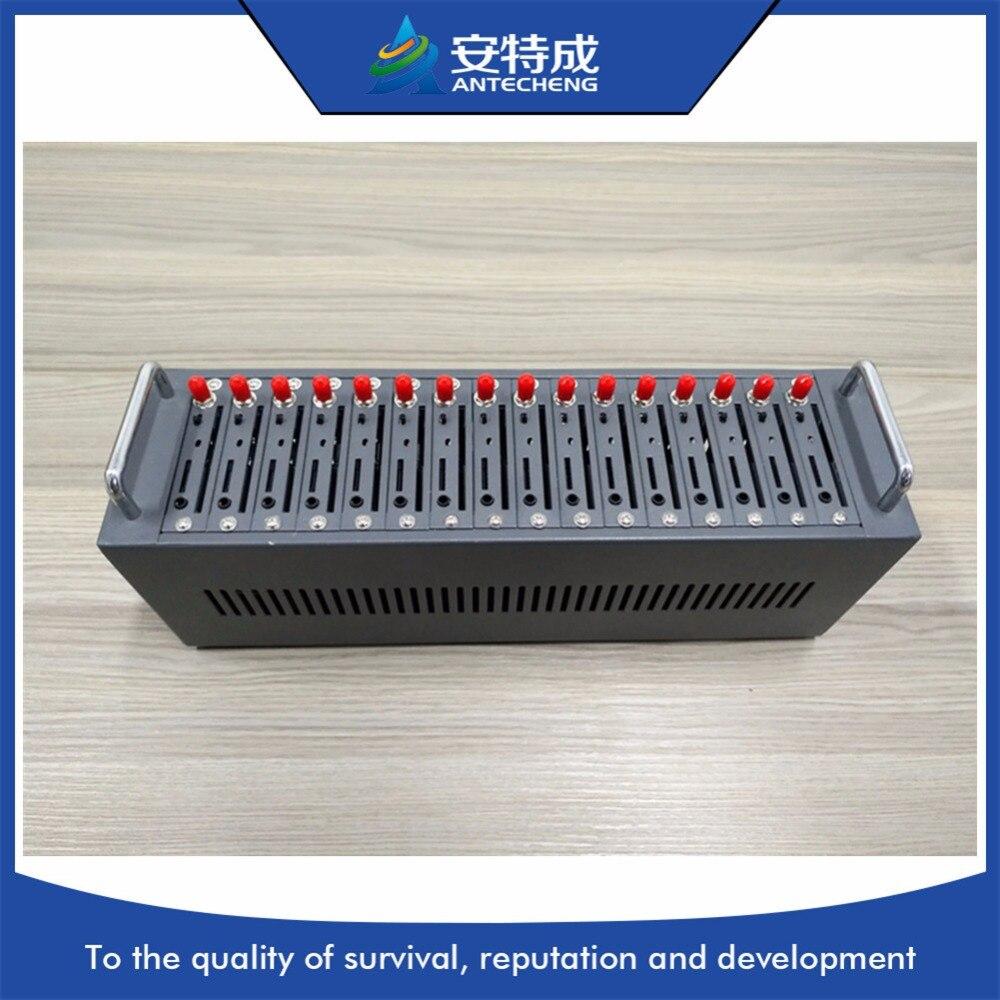 Antecheng nueva llegada wavecom Q24PLUS gsm banda cuádruple 16 puertos módem piscina con promociones precio
