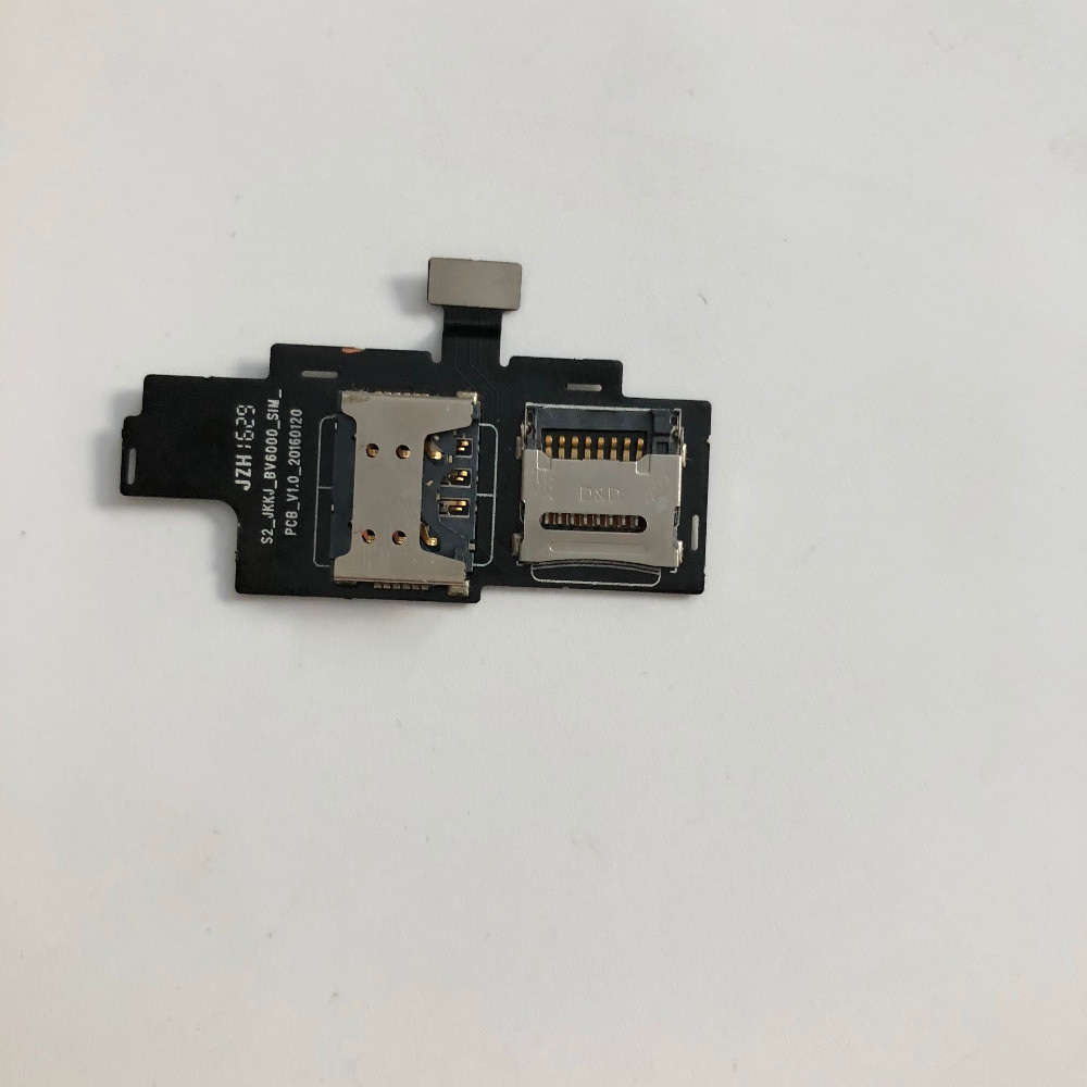 New SIM Card Reader Holder Connector For Blackview BV6000S 4.7
