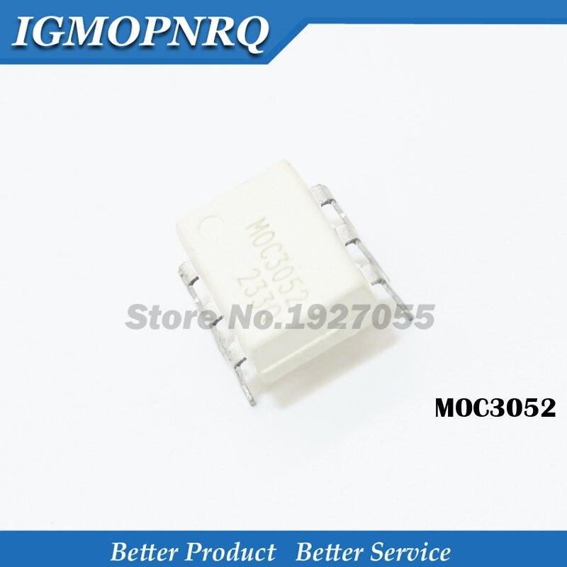 10 Uds MOC3052 DIP-6 C3052 DIP6 3052 nuevo original DIP-6 original nuevo