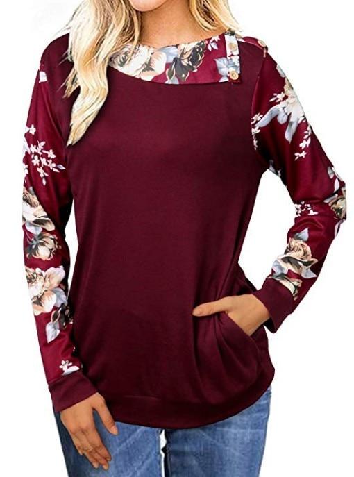 Hot women t-shirts tee pink top womens long sleeve casual female tshirt t tops casual tee shirt aesthetic