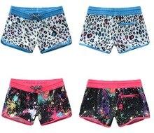 Femmes léopard shorts de plage femme noir Boardshorts combinaison short yoga plongée short de bain séchage rapide bas de Bikini shorts chauds