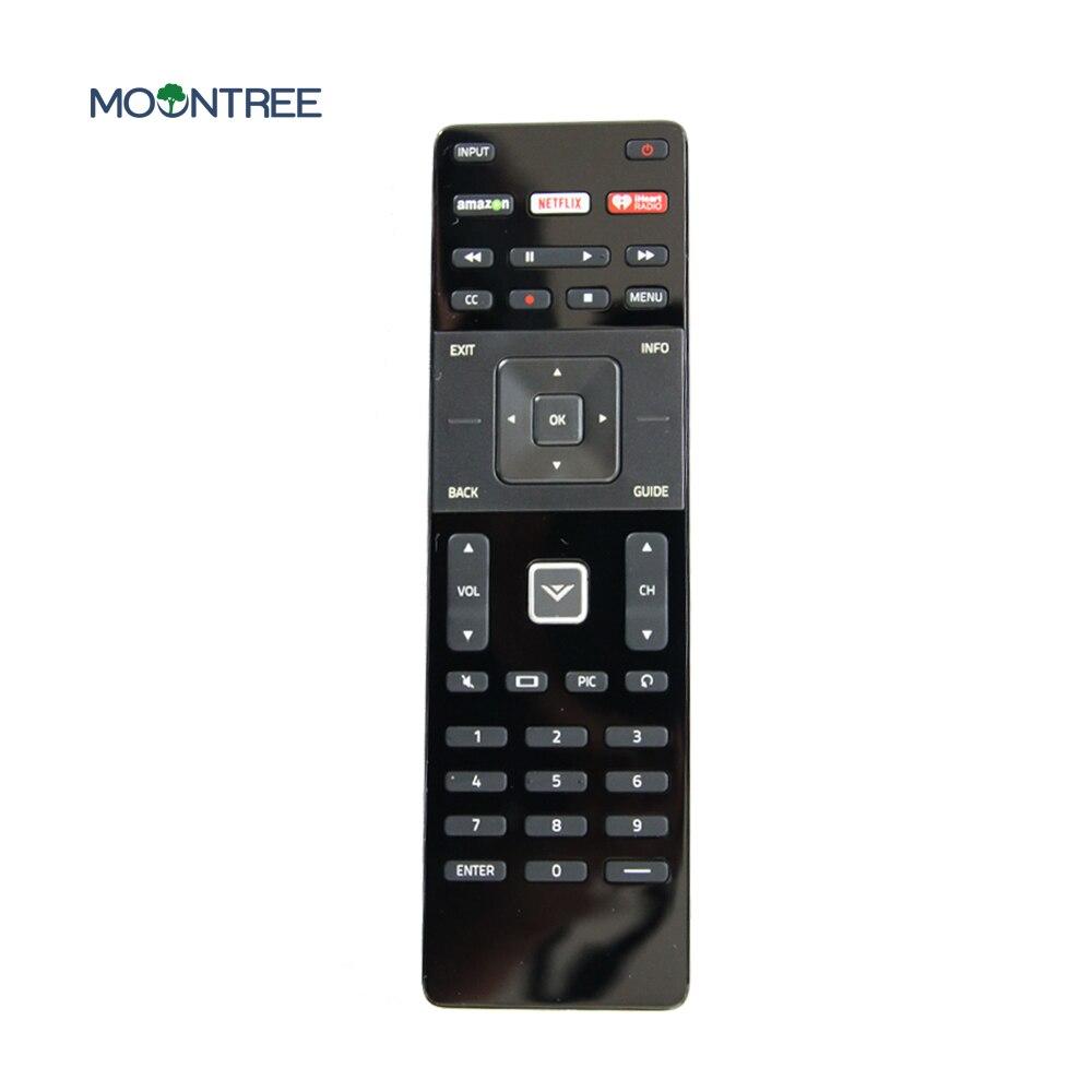 Controle remoto universal para vizio XRT122 para Com a Netflix iHeart Radio keyE Modelos Da Série E28hc1 E24c1 E32-c1 E48-C2 E50-C1 tv