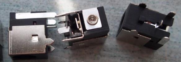 10 unids/lote conector de alimentación DC para LG LS50a LGR40 R400 R405 LGW6 TAMAÑO DE PIN 1,65 MM