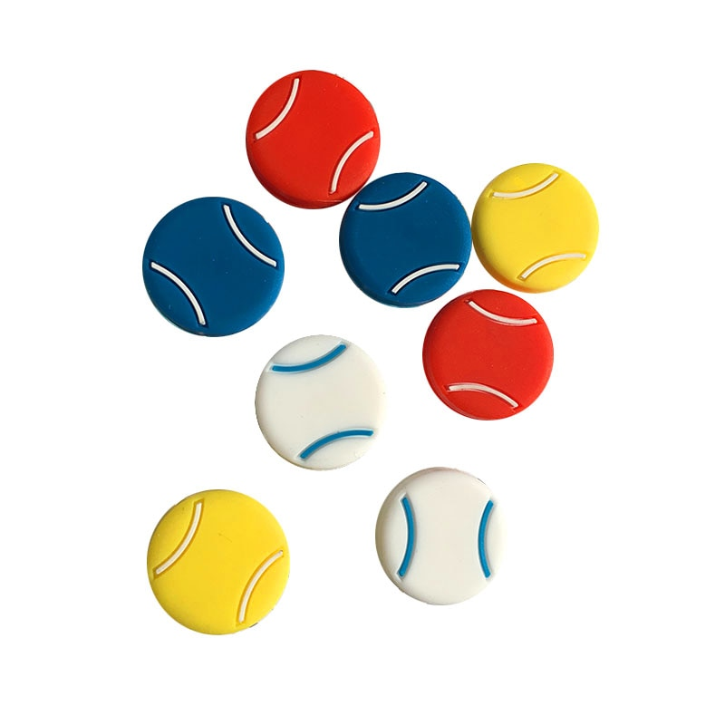 Free shipping(50pcs/lot) 4 colors Silicone tennis racket vibration dampeners,tennis racquet
