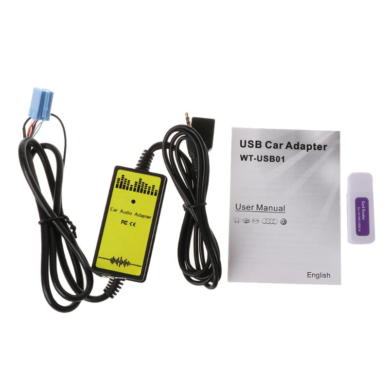 Новый ar аудио MP3 интерфейс CD адаптер Changer AUX SD USB кабель для передачи данных мини 8Pin для VW Skoda