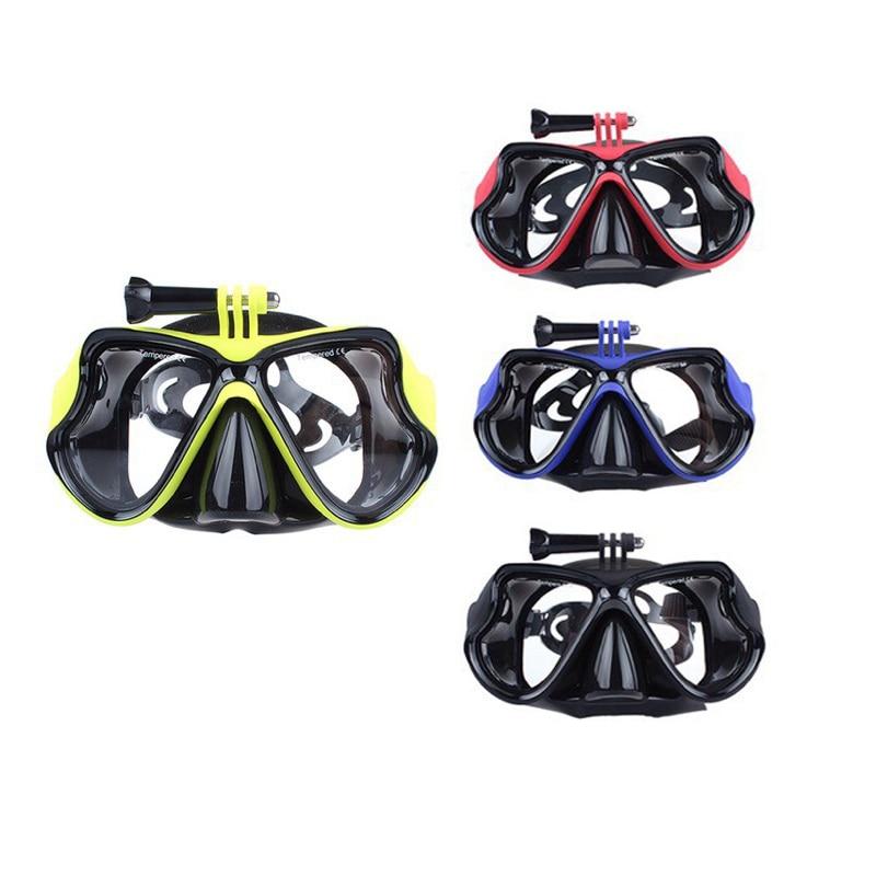Máscara deportiva para buceo y natación, gafas con Estuche portátil, caja de protección para DJI OSMO, accesorios de Cámara de Acción
