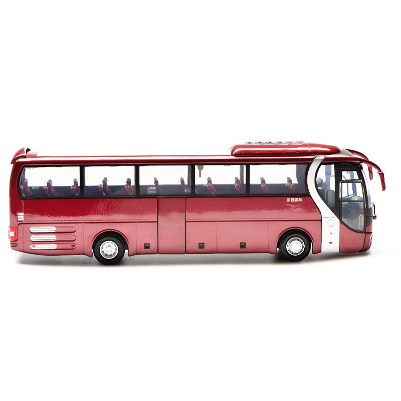 Collectible Alloy Model Gift 1:42 Scale Yutong ZK6120R41 MAN Lion's Star City Transit Bus Vehicle DieCast Toy Model Decoration alloy model 1 24 scale kinglong higer bev pure electric transit bus vehicle diecast toy model for collection decoration
