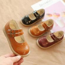 Nuevos zapatos pequeños coreanos de primavera para niños, zapatos de princesa antideslizantes para niñas, zapatos de suela blanda para bebés, zapatos de bebe nenas A1