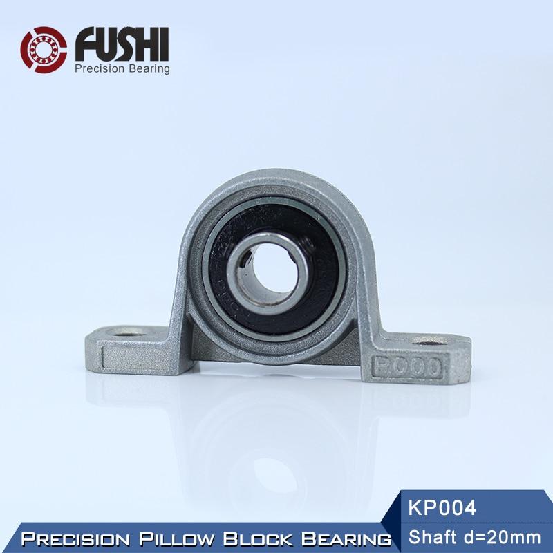 KP004 Bearing 20 mm Shaft Diameter ( 2 PCS ) KP Zinc Alloy Pillow Block KP 004 Bearings KP004