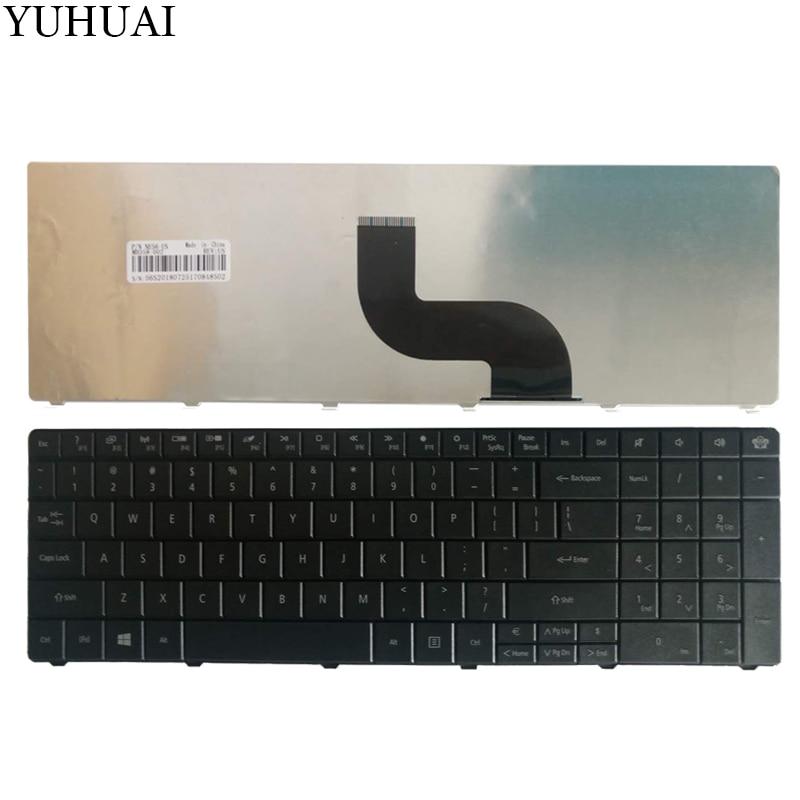 Us teclado do portátil para packard bell easynote te69kb te69hw le69kb q5wph q5wt6 le11 preto inglês
