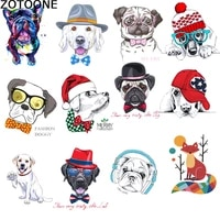 zotoone cartoon cute puppy letters stamping hot transfer pattern diy clothing stamping washable hot stamping offset printing d