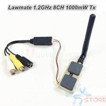 Lawmate 1.2GHz 8CH 1000mW transmetteur AV sans fil VTX TM-121800 pour caméra de vidéosurveillance FPV