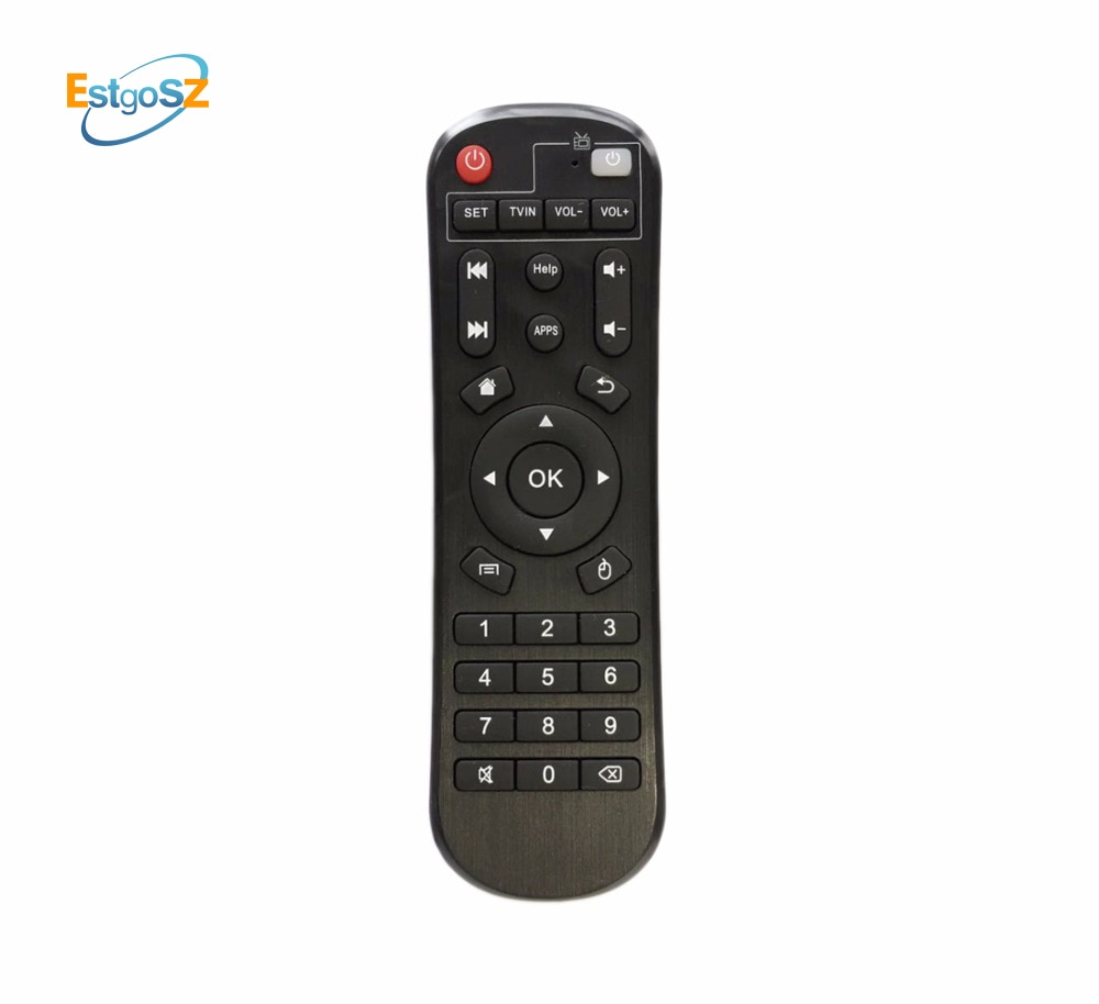PSD Smart Fernbedienung Für Android TV Box H96 pro + MXQ MXQ Pro M8 M8C M8N M9C M10 T95M t95N T95X mx9 H96 X96 (H96 MAX MAX2)