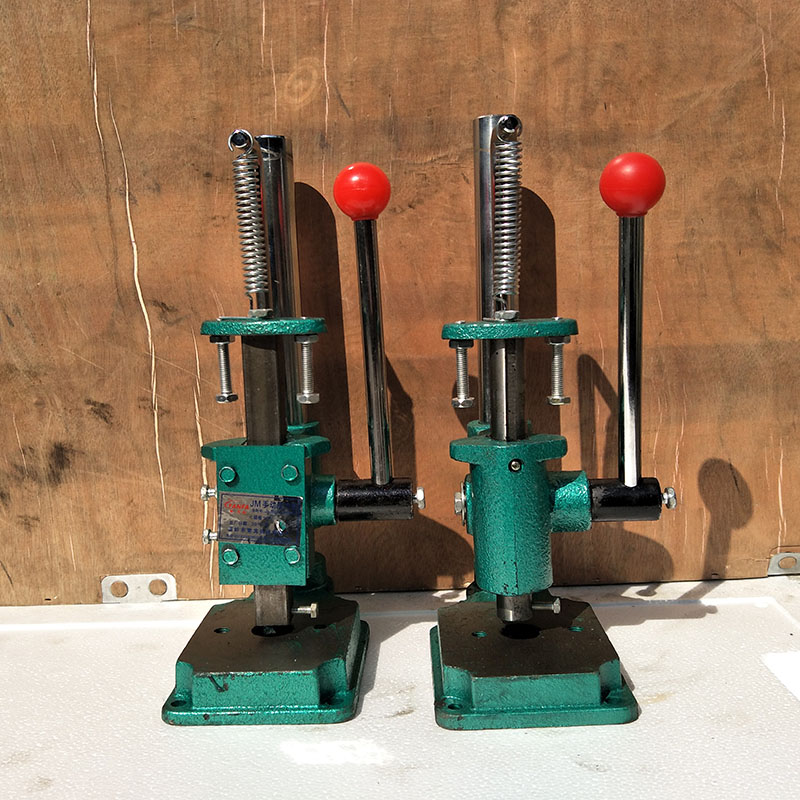 Prensas manuales pequeñas, prensas manuales JM-R/S, prensas manuales simples, punzonadora manual, máquina punzonadora de cerveza