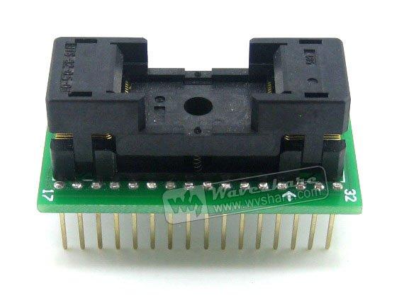 TSOP32 TO DIP32 (B) TSSOP32 Enplas IC Test Socket Programming Adapter 0.5mm Pitch