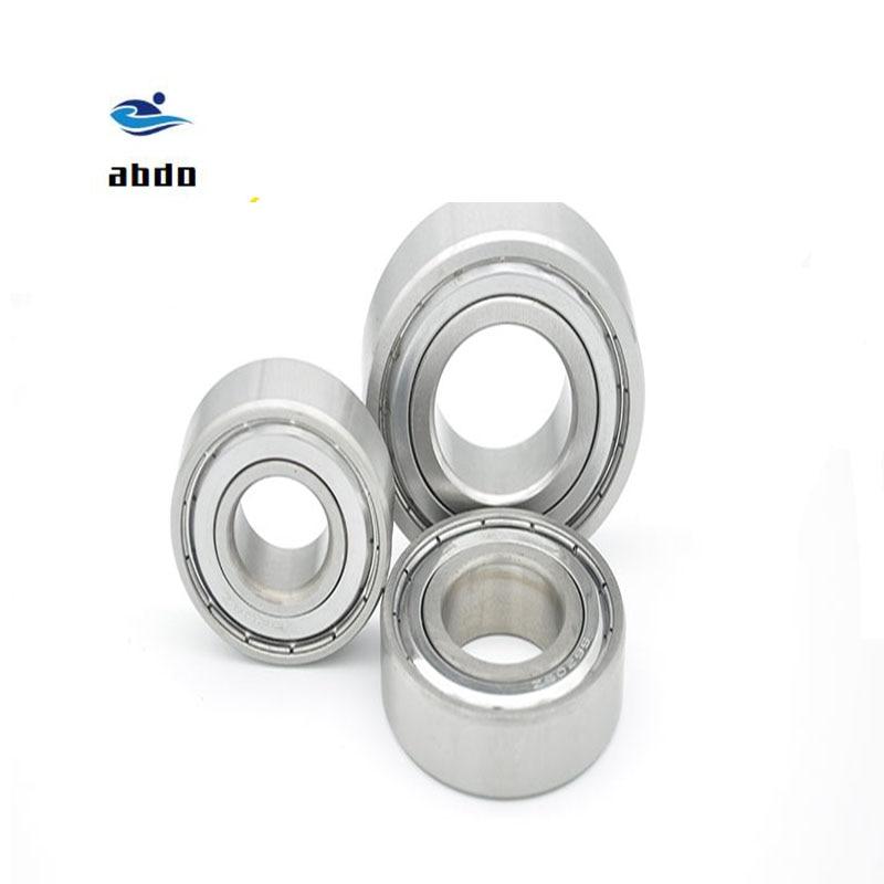 30 Uds alta calidad ABEC-5 6700ZZ 6700z 6700 ZZ 10x15x4mm sello de metal sección de pared delgada Ranura Profunda rodamientos de bolas