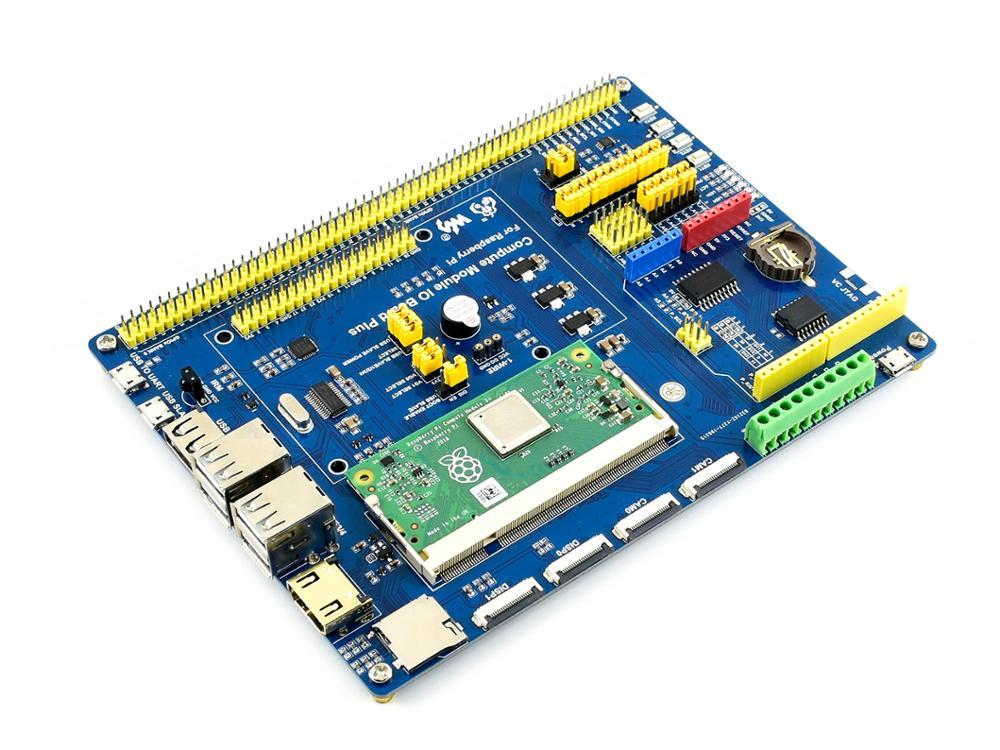 Waveshare-وحدة كمبيوتر IO ، لوحة قواطع مركبة لـ Raspberry Pi CM3/CM3L/CM3/CM3 L