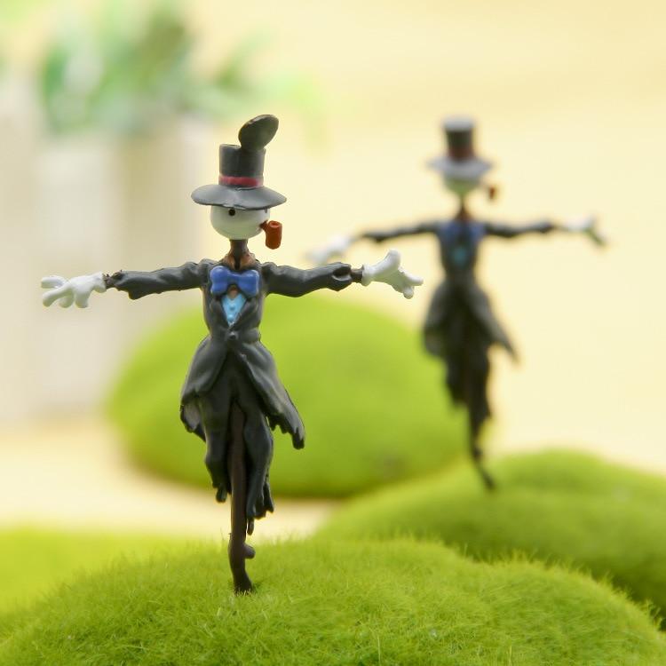 Мини пугало пейзаж Сад миниатюрные украшения фигурки аниме Кукла Миядзаки террариумы фигурка игрушка