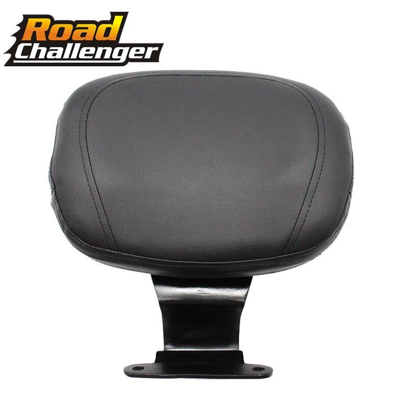 Respaldo para conductor de motocicleta de cuero, asiento de barra Sissy, respaldo para conductor para Honda VTX1300