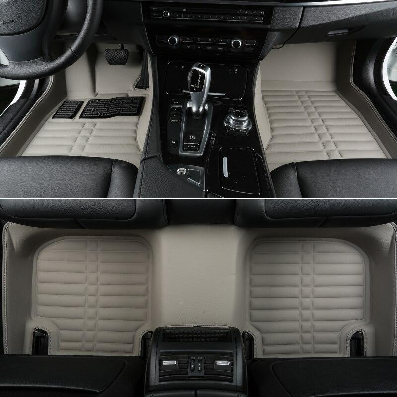 Good quality! Custom special car floor mats for BMW 118i 120i 128i 135i F20 2017-2011 waterproof non-slip carpets,Free shipping