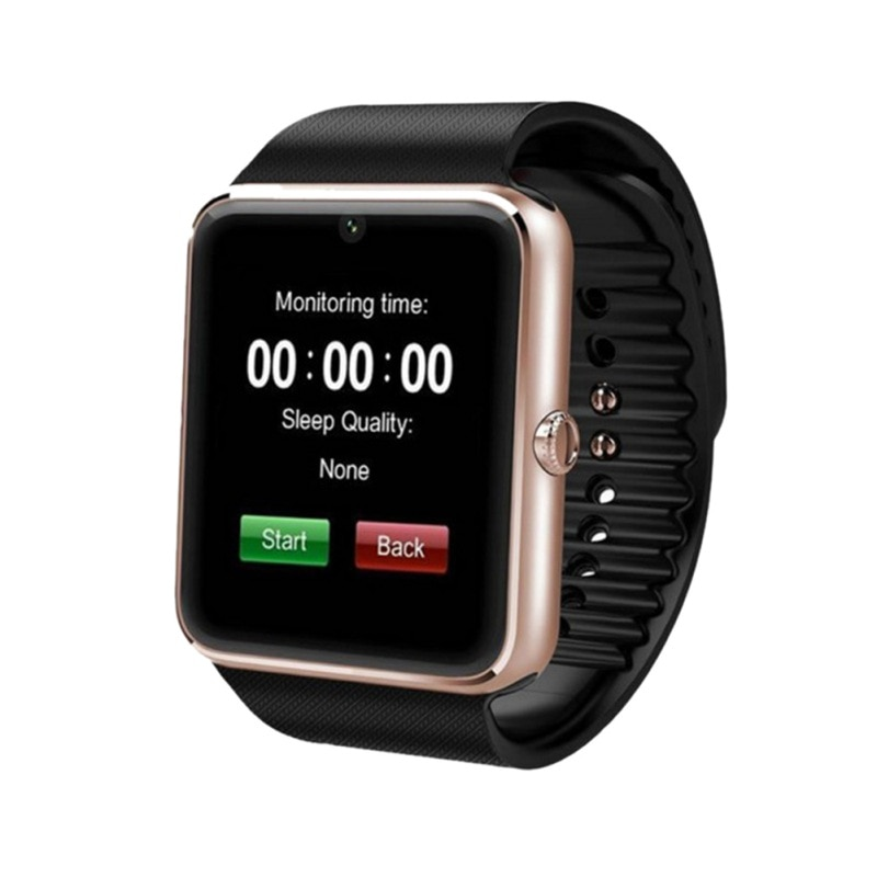 GT08 reloj inteligente tarjeta Bluetooth reloj contador de pasos rastreador de Fitness pulsera inteligente resistente al agua