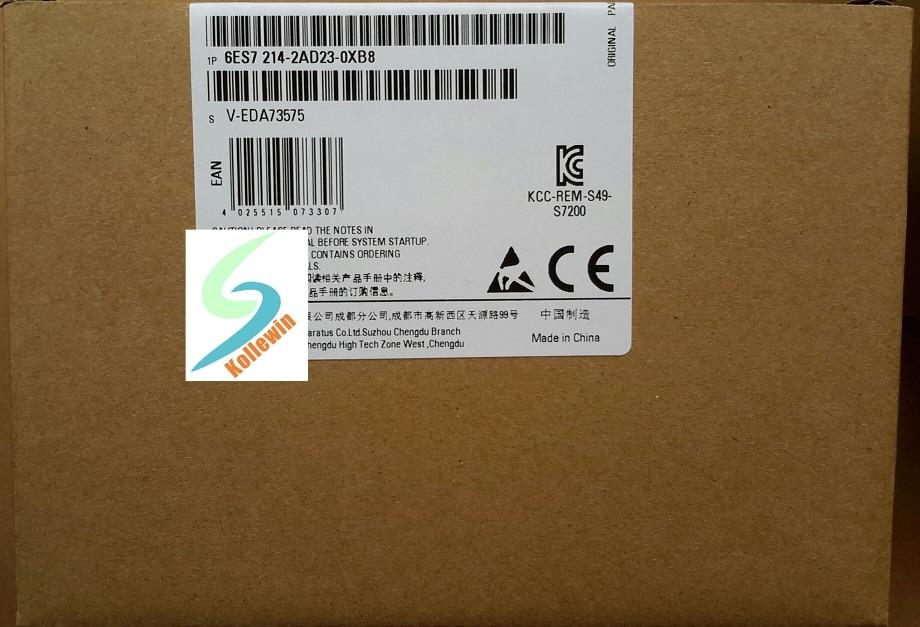 Original SIMATIC S7-200CN CPU224XP 6ES7214-2AD23-0XB8 unidad compacta 14 DI/10 DO 6ES72142AD230XB8, 6ES7 214-2AD23-0XB8 nuevo en caja