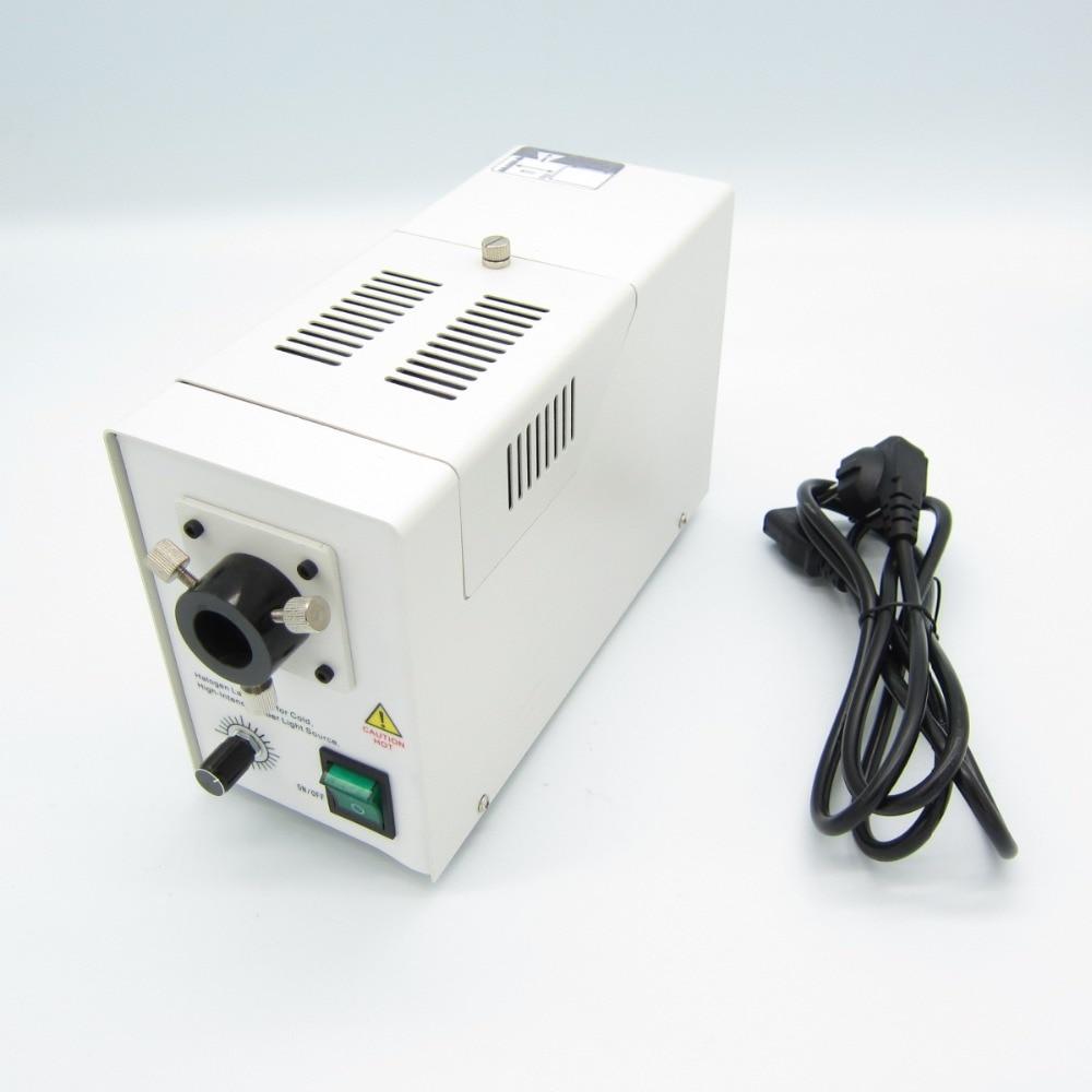 Hot sale ,New 24v 150W Halogen fiber cold Light source,used for microscopes illumination