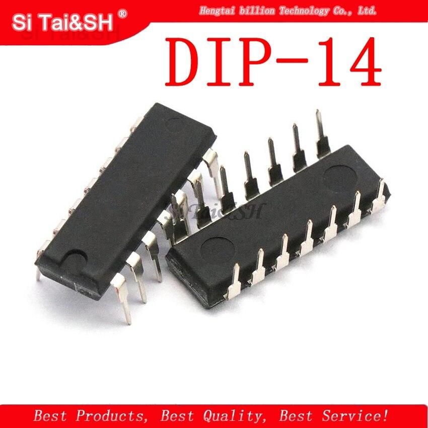10PCS SN74HC04N DIP14 SN74HC04 DIP 74HC04N DIP-14 74HC04 new and original IC