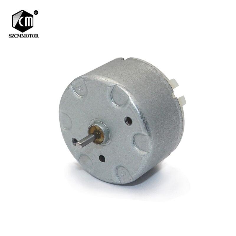 12v 24v Micro moteur à courant continu diamètre de larbre de sortie 2mm longueur 9mm pas cher haute vitesse Mini moteurs 500