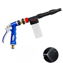 Portable zinc alloy adjustable garden hose high pressure pistol car water gun nozzle garden hose car wash pistol garden tools