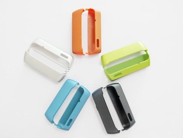 Carcasa nueva Ymitn rosa/negro/naranja/plata/azul/verde tapa superior e inferior para Nokia N8