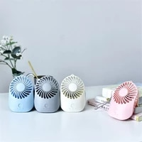 Mini Travel Fan Portable USB fan Pocket Mouse Charging Fan Ultra-quiet Handheld Colorful Fans For Travel Home Office