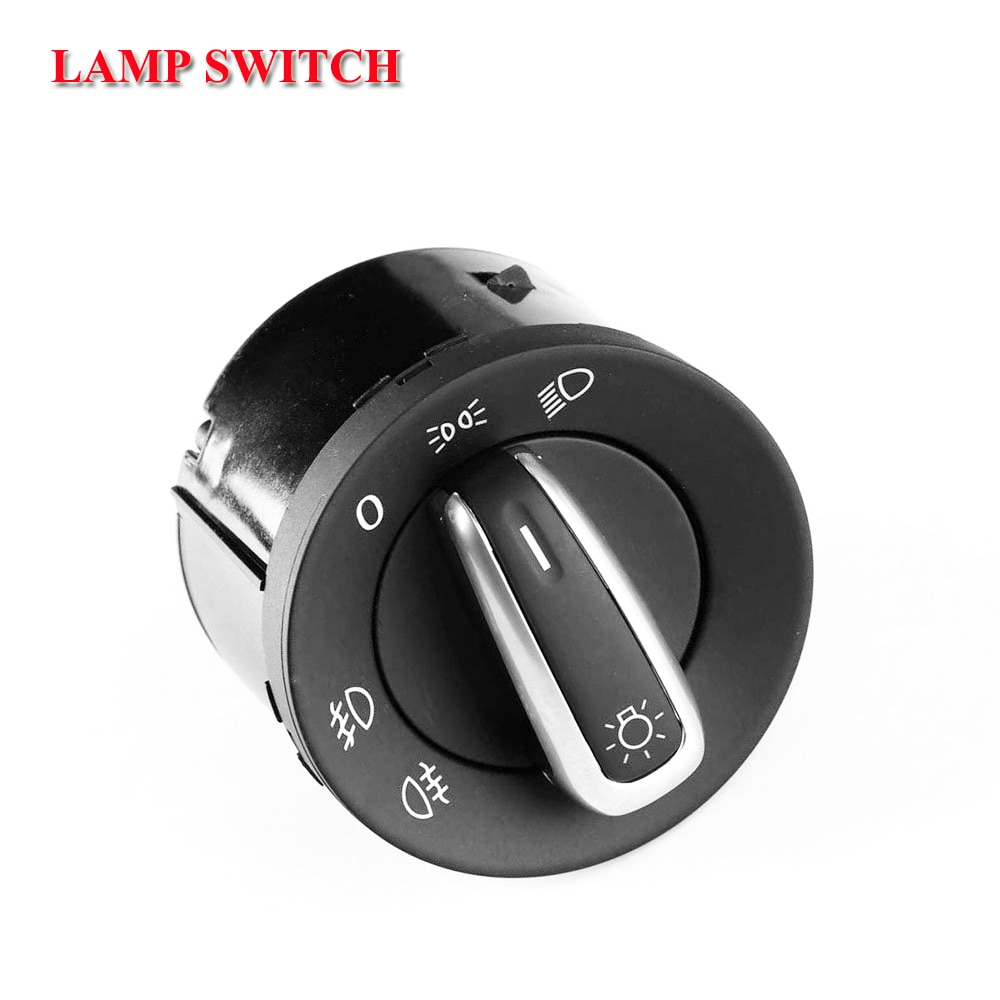 shipping 3c8 941 431c for volkswagen vw golf & jetta mk 5 6 tiguan caddy passat b6 cc polo chrome fog lamp headlight switch